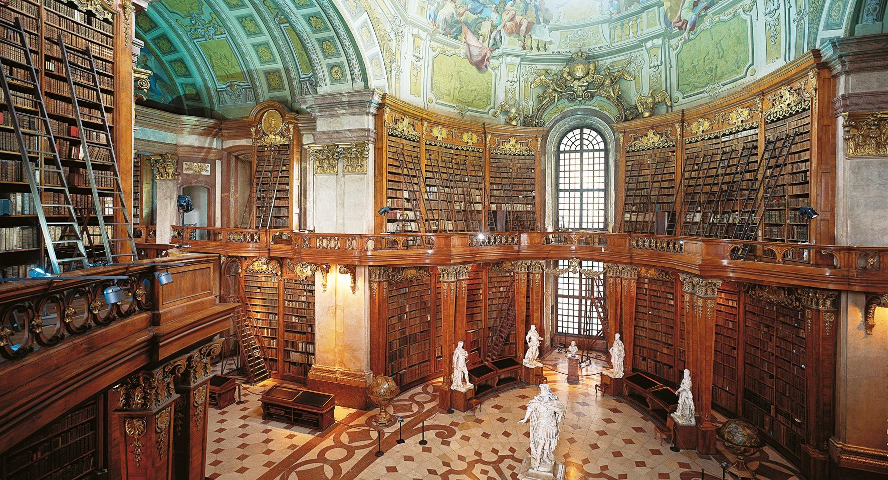 Prunksaal Öserreichische Nationalbibliothek