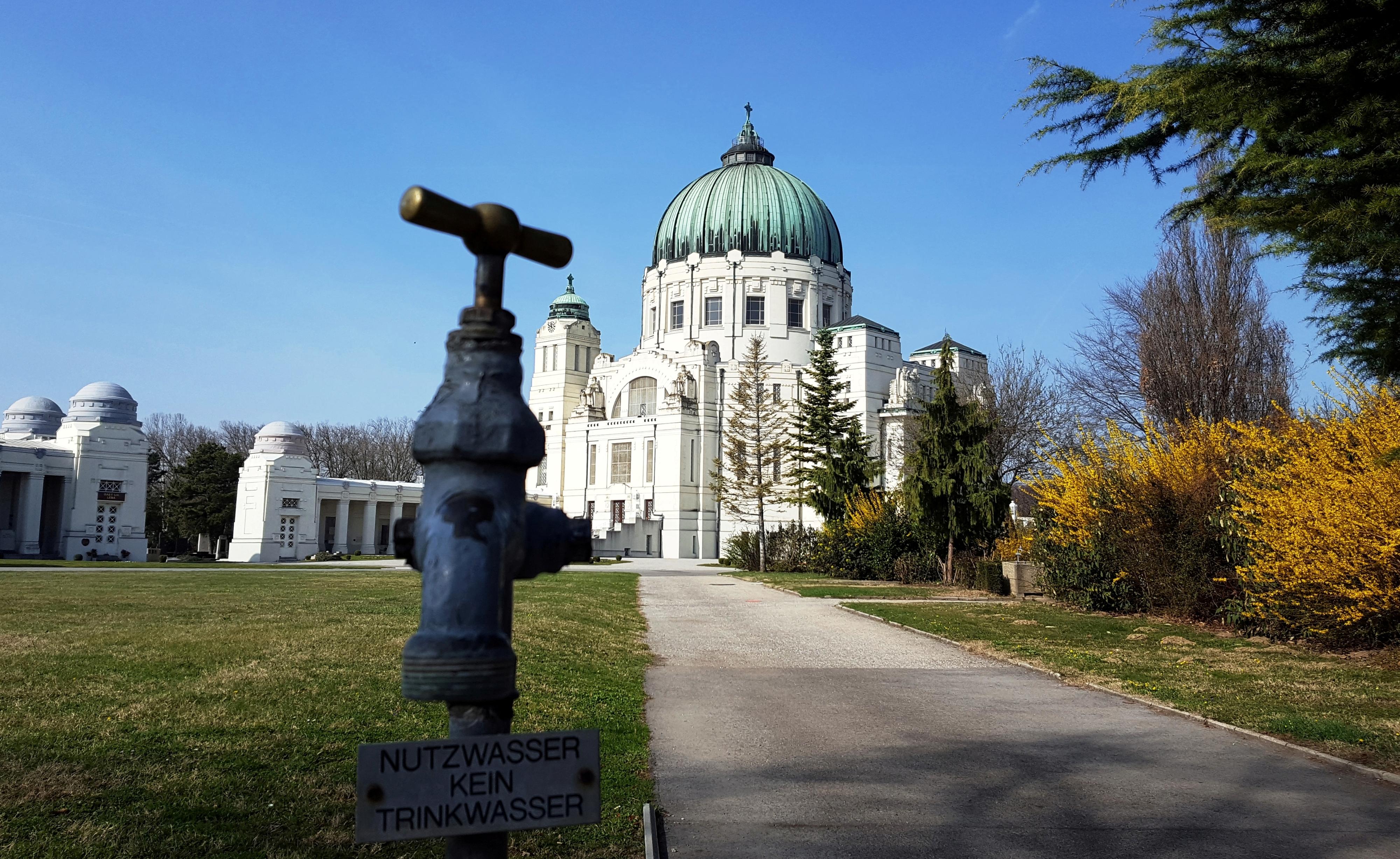 Zentralfriedhof Kirche